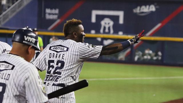 Beisbol, LMB: Yadir Drake definió triunfo de Sultanes en casa