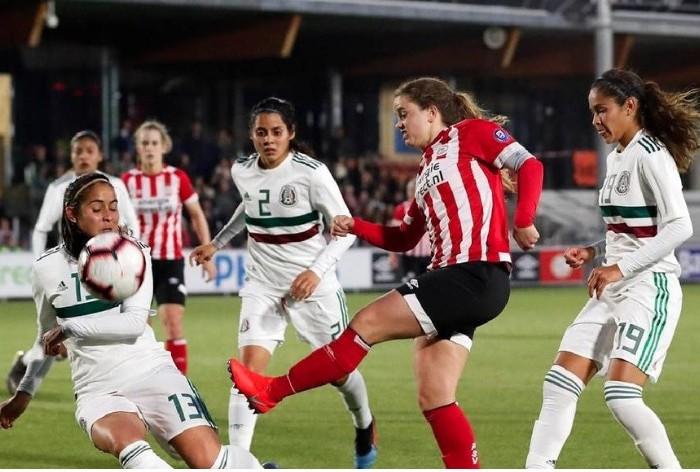 Fútbol: México golea al PSV rumbo a Panamericanos!