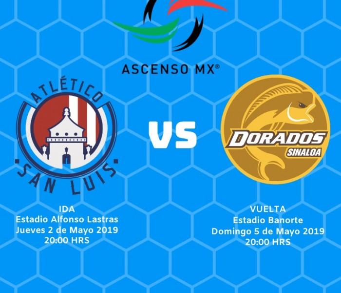 Ascenso MX: Definida fechas y horarios para la final entre San Luis y Dorados.