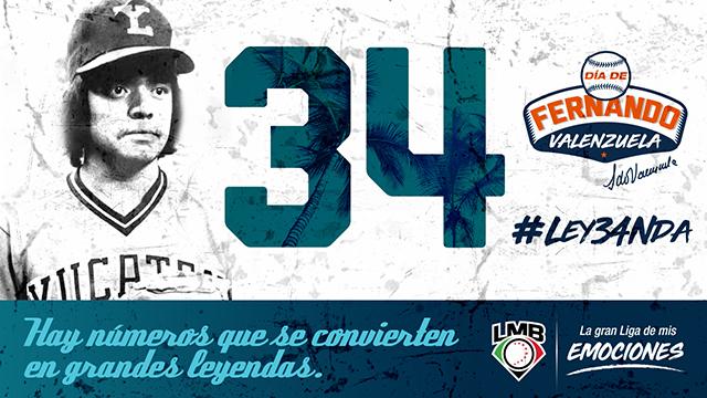 Beisbol, LMB: La Liga Mexicana de Beisbol retirará el número 34 de Fernando Valenzuela