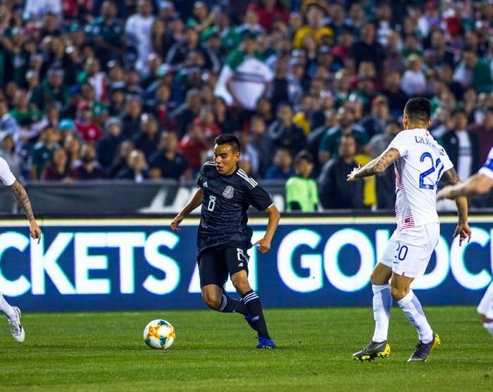 Fútbol: Rodríguez recibió felicitaciones de Martino por su debut en Selección