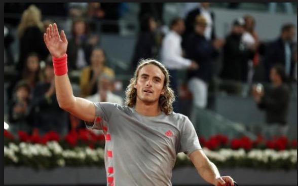 Tenis: Tsitsipas avanza en ranking de ATP tras Abierto de Madrid