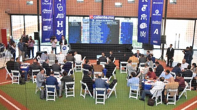 Beisbol, LMP: Concluye con éxito el Draft de Expansión LMP 2019