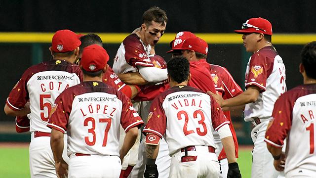 Beisbol, LMB: Hit de Carlos Figueroa para el Walkoff de Diablos