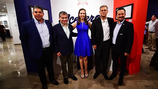 """Beisbol, LMB: Inauguran la exposición """"Acereros: 45 años sobre el diamante"""""""