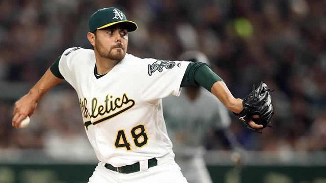 Beisbol, MLB: Joakim Soria y Oliver Pérez tuvieron efectivos relevos