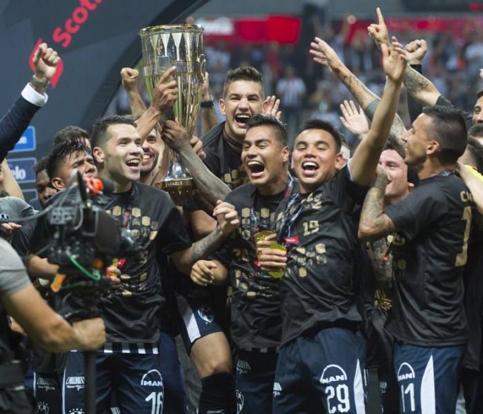 Fútbol: Monterrey toma venganza, se corona en la Concachampions sobre Tigres