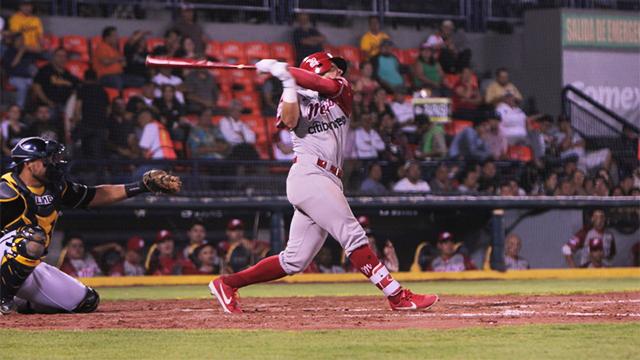 Beisbol, LMB: Diablos Rojos se adelantó en la serie en Aguascalientes
