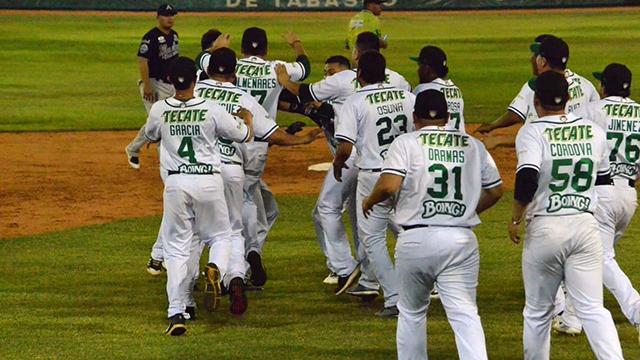 Beisbol, LMB: Olmecas remontó con explosivo rally en la novena
