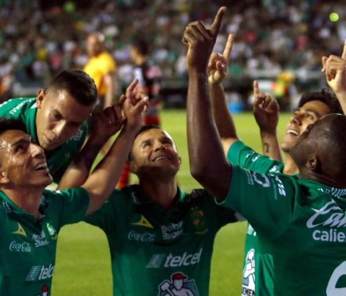 Fútbol: León terminó con la obra, eliminó a Xolos caminando