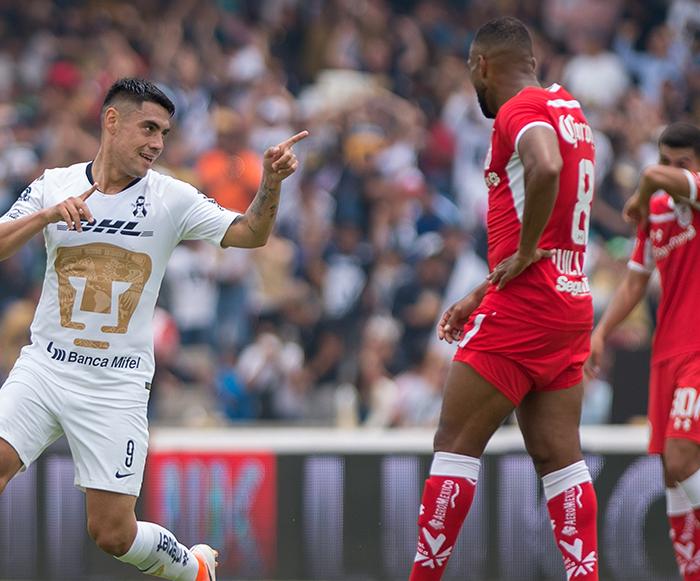 Fútbol: Pumas fulmina el chance de Toluca de Liguilla