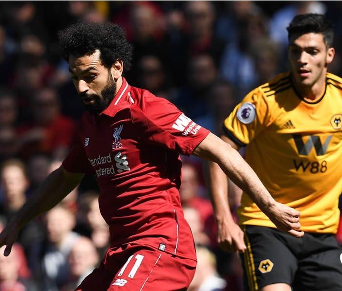 Fútbol: Victoria inútil del Liverpool sobre los Wolves de Raúl Jiménez