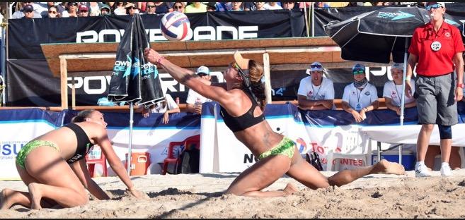 VOLEIBOL, NORCECA: México gana oro, plata y bronce en voleibol playero.
