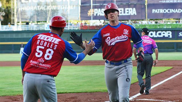 Beisbol, LMB: Botín completo para los Generales en Aguascalientes
