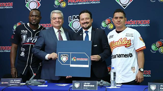 Beisbol, LMB: La Liga Mexicana de Beisbol y Pronósticos anunciaron alianza