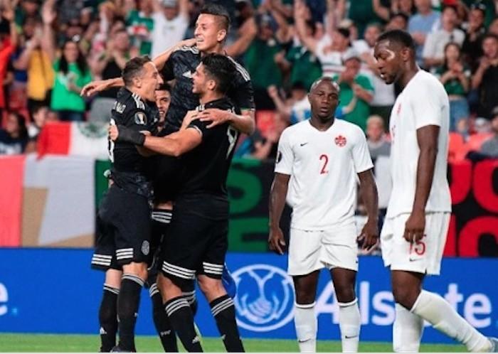 FÚTBOL, COPA ORO: México vence vence a Canadá 3-1