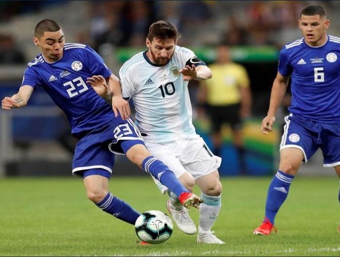 FÚTBOL, COPA AMÉRICA: Argentina empata con Paraguay y sigue sin aparecer.