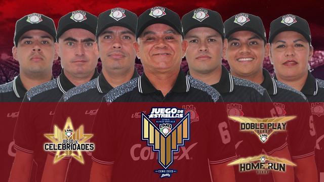 Beisbol, LMB: Umpires para el Juego de Estrellas 2019