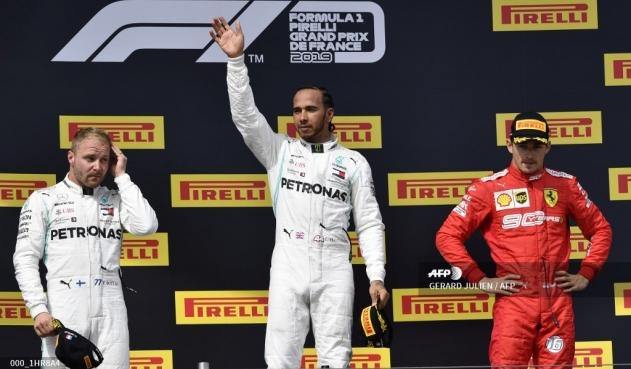 Automovilismo: Lewis Hamilton ganador de GP de Francia