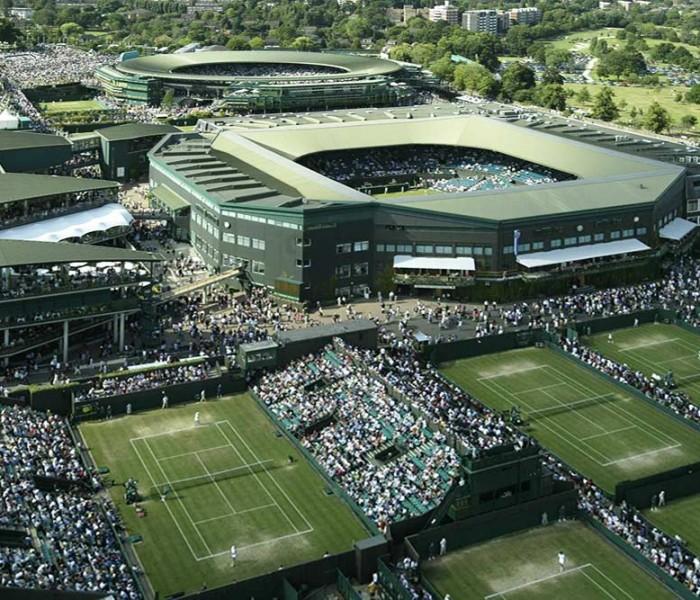 Tenis: Listo el sorteo de Wimbledon