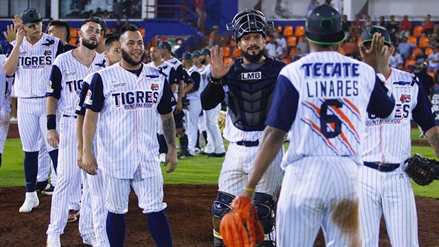 Beisbol, LMB: Tigres aseguró su cuarta serie al hilo tras vencer a Algodoneros