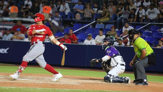 Beisbol, LMB: Diablos Rojos se quedó con el tercero de la serie en el Palacio Sultán