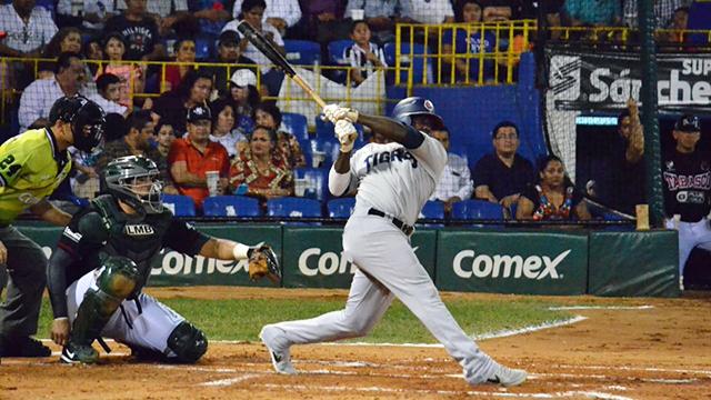 Beisbol, LMB: Blanqueada de Tigres en el Parque Centenario