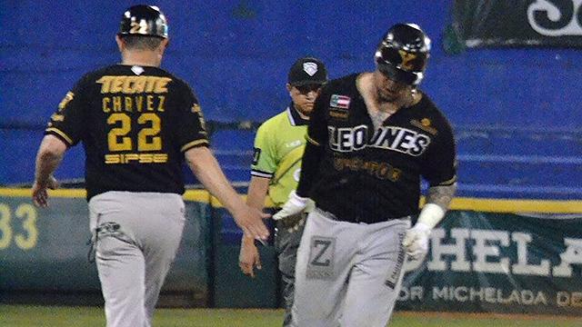 Beisbol, LMB: Leones gana serie completa a Tabasco