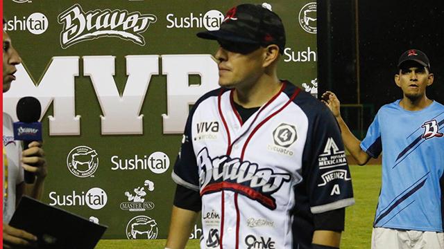 Beisbol, LMB: Doblete de Carlos Álvarez le dio el triunfo a Bravos