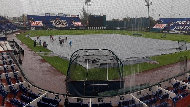 Beisbol, LMB: La lluvia no dejó jugar a Guerreros y Tigres