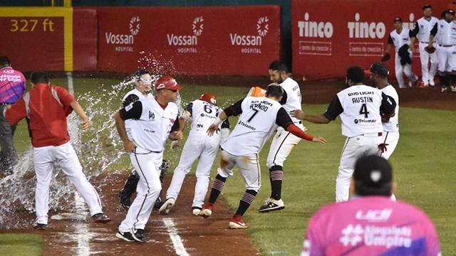 Beisbol, LMB: Piratas venció a Olmecas en extra innings