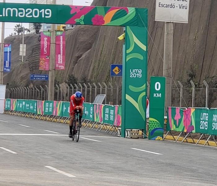 Juegos Panamericanos: México concluye en séptimo y octavo lugar en prueba contra reloj