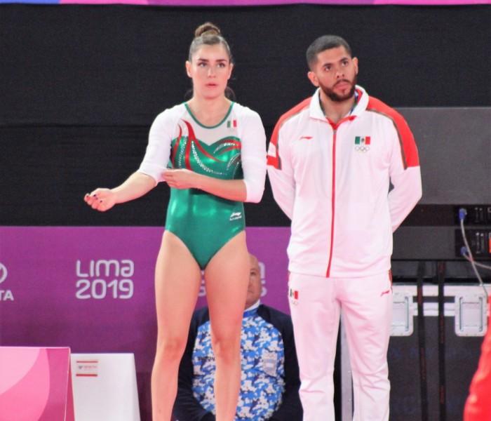Juegos Panamericanos: Dafne Navarro obtiene la medalla de bronce el trampolín