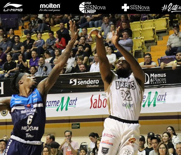 Baloncesto, LNBP: Huracanes pega primero