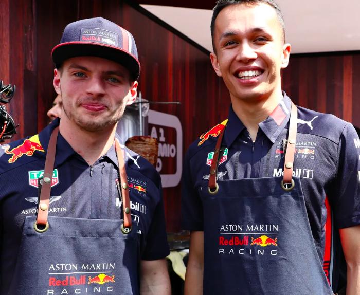 Automovilismo, F1: Rumbo al gran Premio de México, Max Verstappen y Alex Albon se convierten en taqueros