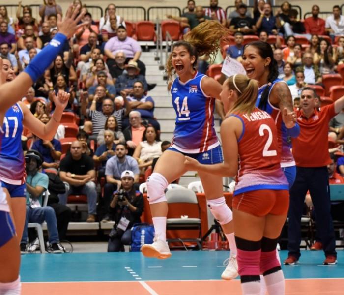 Voleibol: Puerto Rico en semifinales y boleto a eliminatoria Olímpica de NORCECA