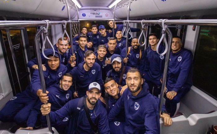 Futbol: Monterrey aterrizó en Doha para el mundialito