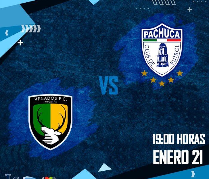 Futbol: Minuto a minuto del partido Venados vs Pachuca