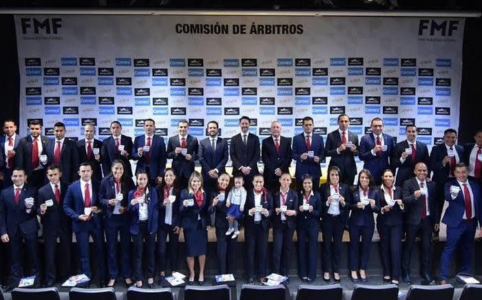 Futbol: LISTOS LOS ARBITROS PARA EL ARRANQUE DEL FÚTBOL MEXICANO