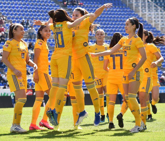 Futbol: Tigres femenil  sube al cuarto puesto