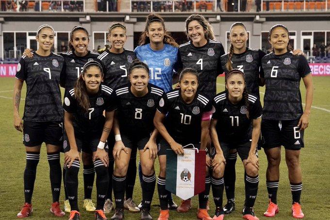 Futbol: México femenil comienza con triunfo camino a JJ