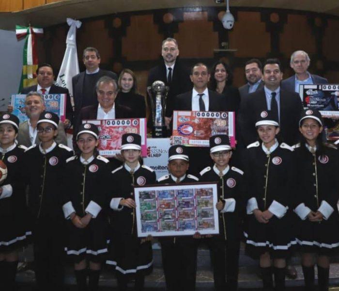 LNBP, Baloncesto: La Lotería Nacional celebra a la LNBP