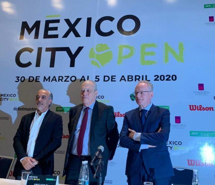 Tenis: Se conocieron detalles del Abierto de la CDMX