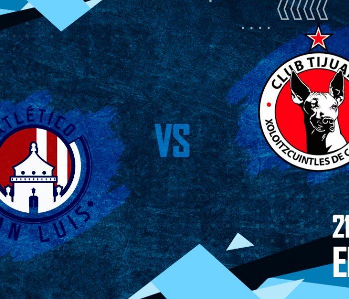 Futbol: Minuto a minuto del partido San Luis vs Tijuana