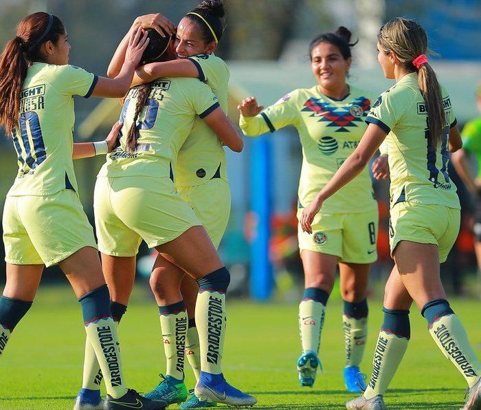 Futbol: América femenil inicia la Clausura 2020 con buena racha