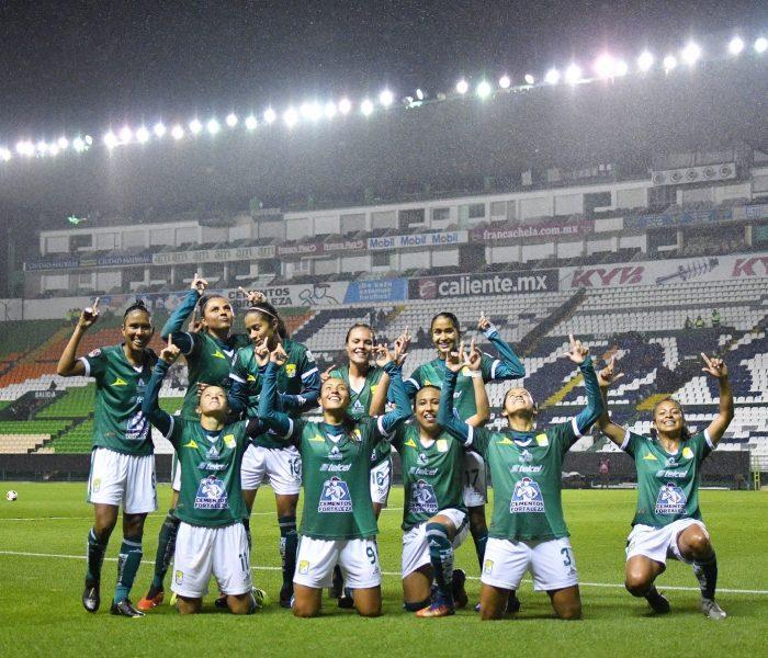Futbol: León Femenil logra su primer triunfo en la Clausura, con goleada sobre Toluca