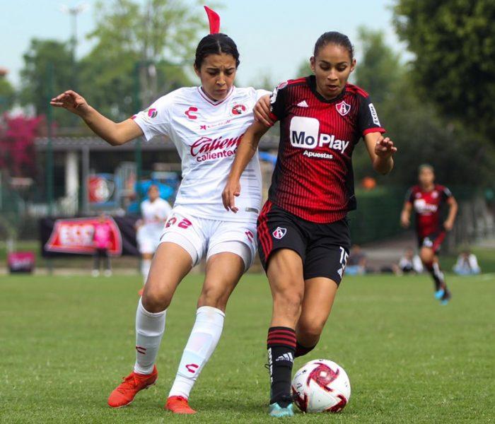 Futbol:  Tijuana femenil  logra valioso empate ante Atlas FC