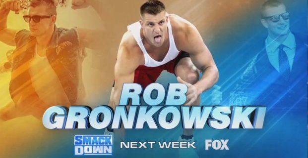 LUCHA LIBRE: OFICIAL, ROB GRONKOWSKI DEBUTARÁ LA PRÓXIMA SEMANA EN WWE