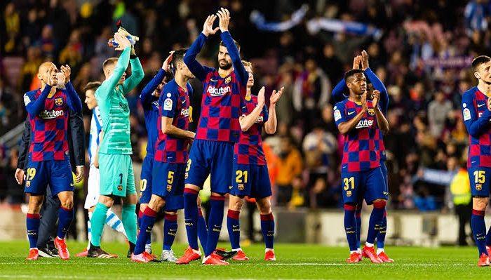 Fútbol: Barcelona dividido por la reducción de sus salarios