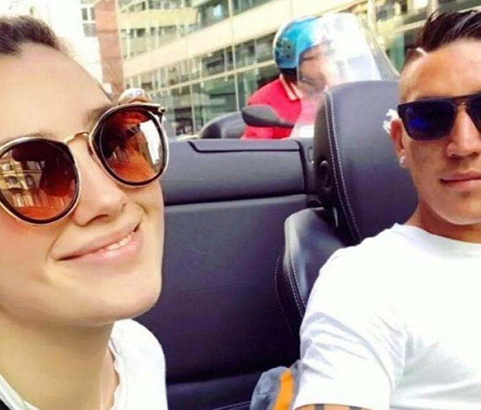 Fútbol: Fallece la novia de Ricardo Centurión, en un accidente automovilístico
